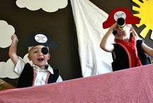 Pirate Party / kid's party ideas / by Deana Glass