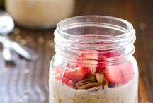 Overnight Oats and Chia Pudding