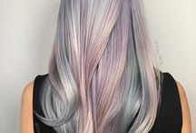 grey lavender hair