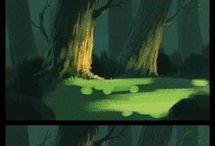 Art Environment Forest
