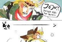 JJBA comics