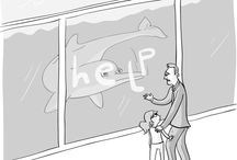 Environmental cartoons