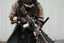 Post apocalyptic costume / by Toby Nunez