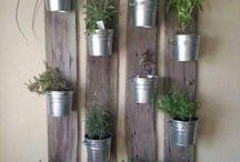 Кухонные травяные сады
