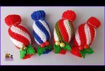 Crochet Deco for Xmas