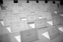 Wedding Place Cards to In{s}pire. / by Edith Elle Photography & Associates
