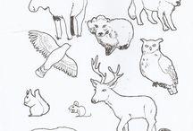 Ympäristöoppi: metsän eläimet