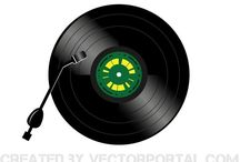 Music vectors / Vector images about music.