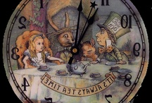 Alice in wonderland~~ we're all a little mad here / by April Jones-Wilson