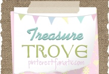 ::: Treasure Trove {PinterestFanatic} ::: / A treasure trove of pins that have inspired themed posts on pinterestfanatic.com.