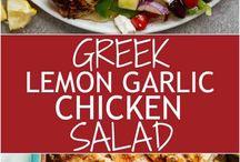 Chicken Salad Lunch Ideas