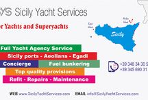 Sicily Yacht Services / Single point of contact for yachts and superyachts coming to Sicily, Aeolian Islands and Egadi Islands.