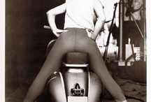 Sexy Lady and Sexy Vespa