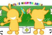 Aulas  Hospitalarias / Propuesta didáctica dirigida a los profesionales del ámbito educativo y escolar hospitalario.