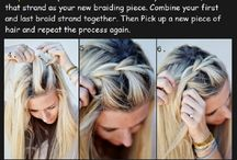 Hair braiding tutorials for Abigail
