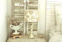 "Vintage Doors & Shutters / This is my taste, but the older they are, the best they look! Those vintage doors and shutters are just ""Magnifique"" with their distressed paint and sometimes with all the details they have. As a decor or a display, they will give any interior so much character and a Shabby Chic touch! Please enjoy the best I have found. And visit: www.laboutiquevintage.co.uk"