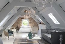 Attic area: bedroom, closet, bathroom