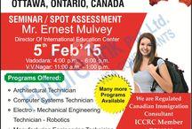 Spot assessments of Algonquin College,Ontario, Canada