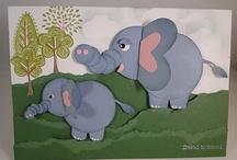 Animal card cuteness