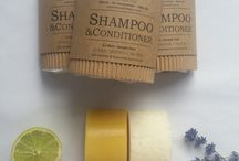 Shampoo bars and conditioner bars