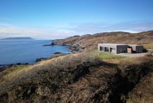 IN THE MIDDLE OF NOWHERE - SCOTLAND / Dualchas Architects designed the Tigh Port na Long house on the Isle of Skye in Scotland.