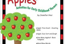 preschool fall ideas