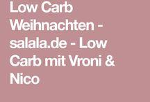 Weihnachten/Low carb