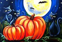 Halloween DIY / halloween crafts, printables, fonts