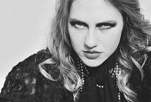 Fashion Photoshoot 30's Inspired / smoky eyes, fashion, decades, black and white