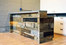 Reclaimed Wood Commercial Uses / by Reclaimed Wood, Inc.