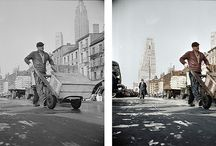 New York - colorized images | street scenes