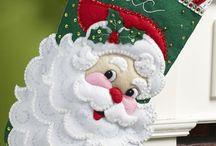 Vilten kerstmis