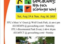FPL's Geocaching Events Weekend - Aug 29 & 30, 2015 / Information and photos from the Foley Public Library's Geocaching Events Weekend held Sat, Aug 29 & Sun, Aug 30, 2015. / by Foley Public Library