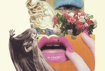 Fashion collage / Fashion collage and illustration