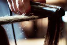 Haare glätten
