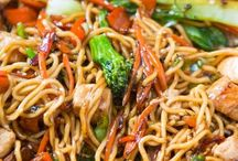 Stir fry / Any stir fry is generally a healthy dish! These are some great ones!