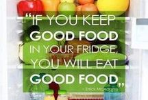 Nutrition Inspiration / Sometimes all it takes it the right set of words to get you motivated!
