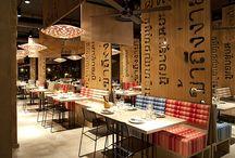 Thai restaurant interior