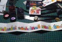 Cincüce Bobin Hizmetleri / Handmade miniature books / Tamamı el yapımı minyatür kitaplarımın tümü burada.