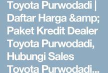 Toyota Purwodadi / Toyota Purwodadi
