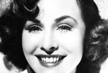 Paulette Goddard / Paulette Goddard (June 3, 1910 – April 23, 1990) was an American actress. Married 4 times, spouses included  Charlie Chaplin and  Burgess Meredith. / by Kristin Leedy Kessler