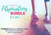 Fitness and Healthy Lifestyle - Design Templates