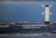 Ksawery w Świnoujściu / Ksawery w Świnoujściu #ksawery #orkan #eswinoujscie #swinoujscie #wiatrak #plaza