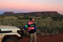Aboriginal Art - Desert Life