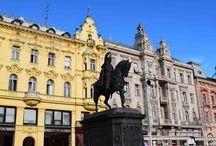 Zagreb / Zagreb, Hauptstadt von Kroatien