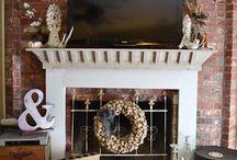 fireplace surrounds / by Rhonda Corrigan