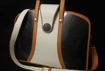 Cartagena / Ultra light briefcase made with leather and carbon fiber  www.londonobags.com