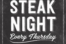 Steak Night Designs