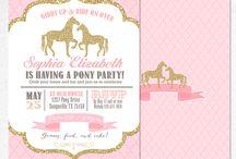 Gold Pony/Horse p