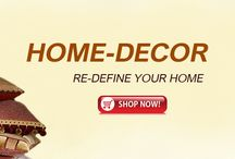 Home decor / Make your dreamy world by converting your house into home with the most versatile and interesting collection of home decoratives at Makemyorders.com
